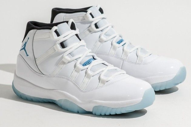 air jordan 11's men shoes-legend blue