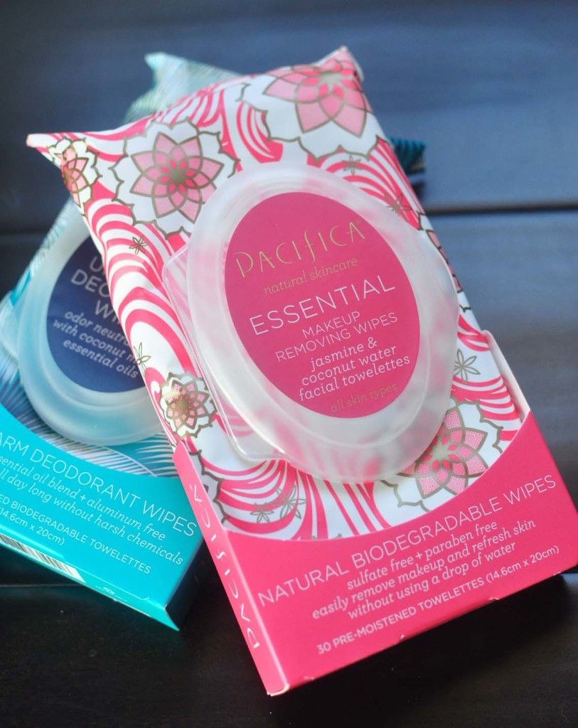Latest Pacifica Faves Underarm & Makeup Wipes Vegan