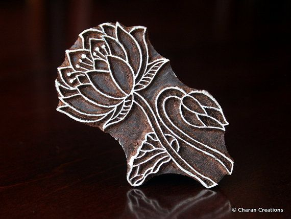 Toadstool Hand-carved Indian Woodblock Stamp REDUCED FROM £3.25