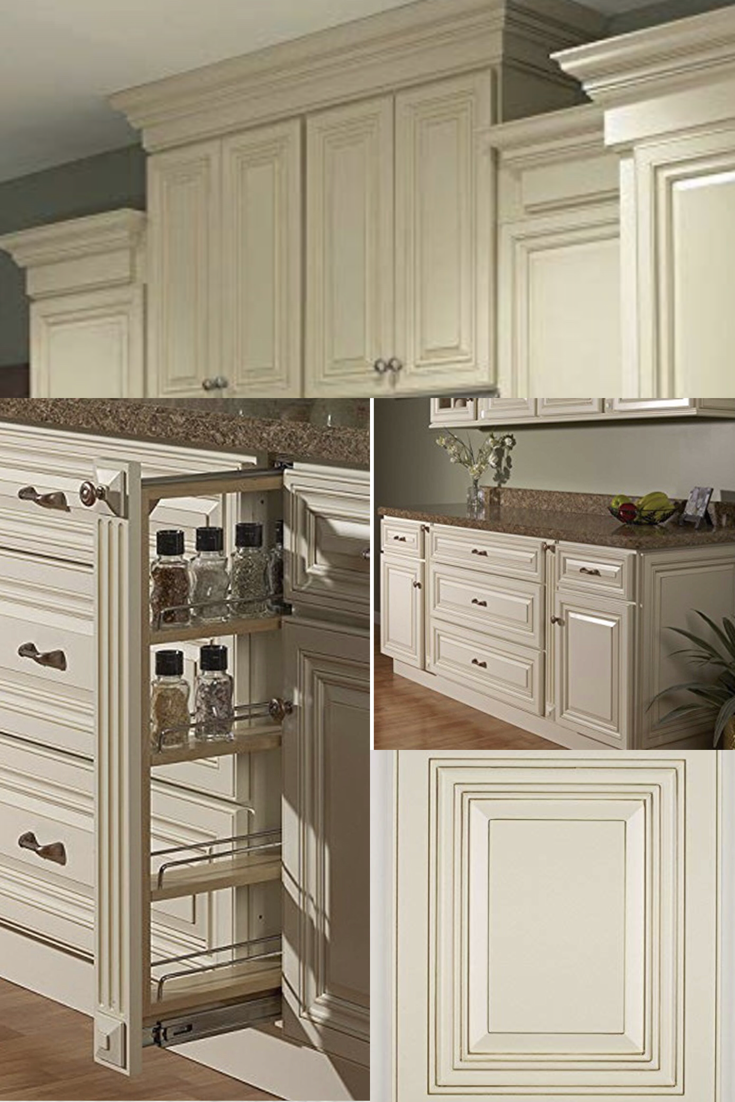 Merveilleux Wheaton Collection 10x10 Kitchen Cabinets, Kitchen Furniture, Decorating  All Wood Construction   Creme Paint Maple Solid Raised Panel Doors With  Matching ...