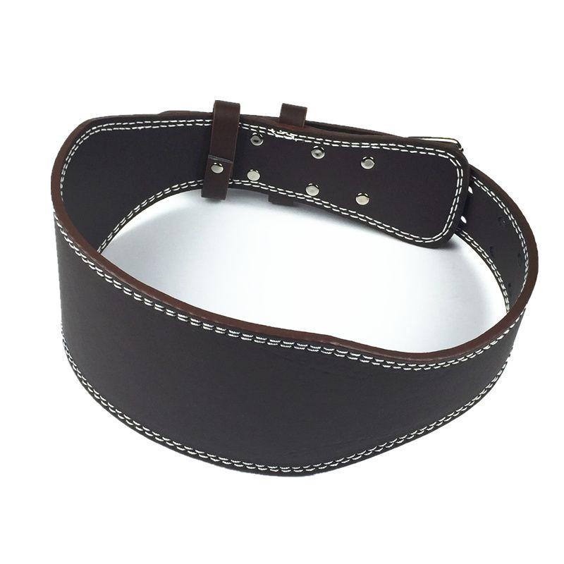 Levantamiento de pesas cinturón de alta calidad de la PU gimnasio de cuero de equipos de Fitness cinta ancha espalda de apoyo de halterofilia cinturón envío gratis