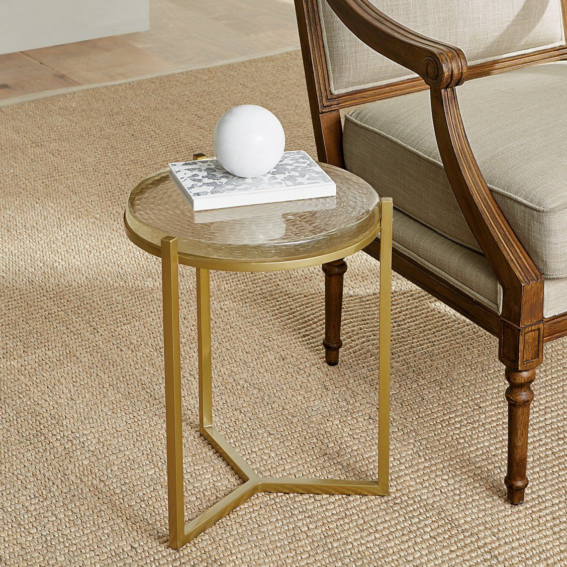 Blair Gold Accent Table Gold Accent Table Side Table Accent Table