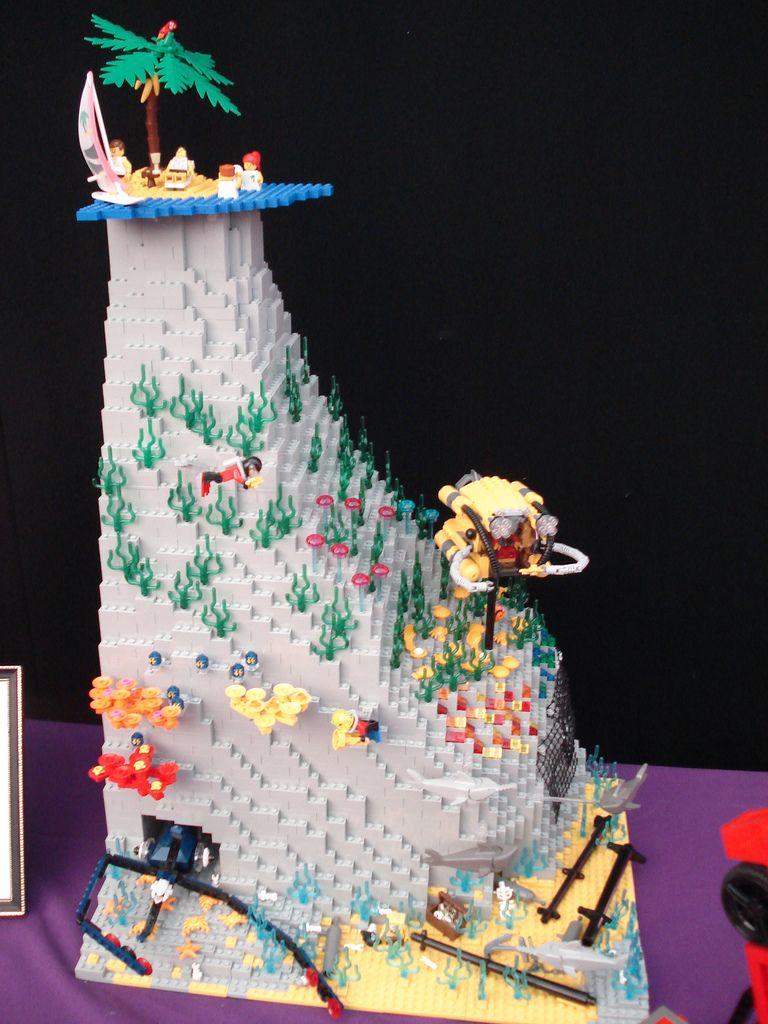 Underwater Scene Amazing Lego Creations Cool Lego Lego Projects