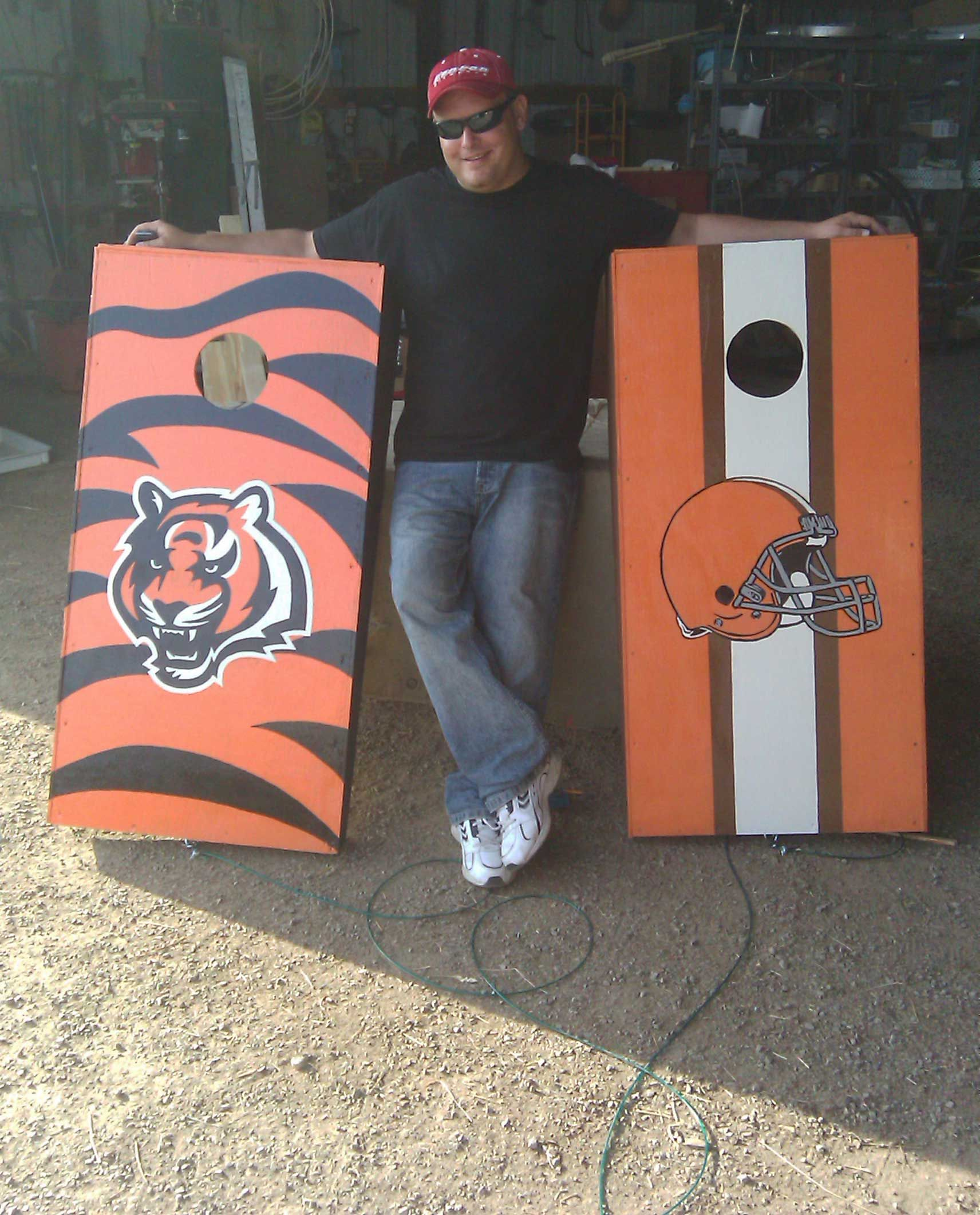 792100fd Bengals Cornhole Boards Cornhole Boards, Outdoor Games, Tailgating, Paper  Shopping Bag, Outdoor