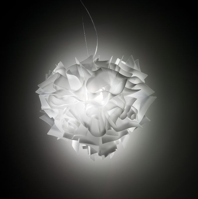 Here S A Contemporary Pendant That Is Ruffling Up The Interior Design World Veli From Italian Lighting Company Slamp This Elegant By Adriano