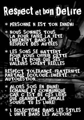 Célèbre Le Respect ça compte beaucoup ! *Le bon esprit de la teuf et ses  WL42