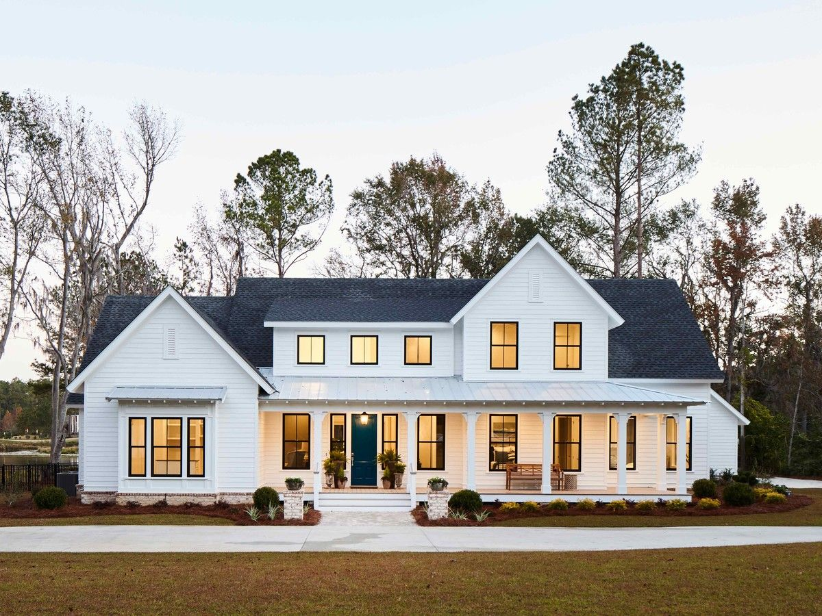 Dream Home Farmhouse Style House Farmhouse Style House Plans Porch House Plans