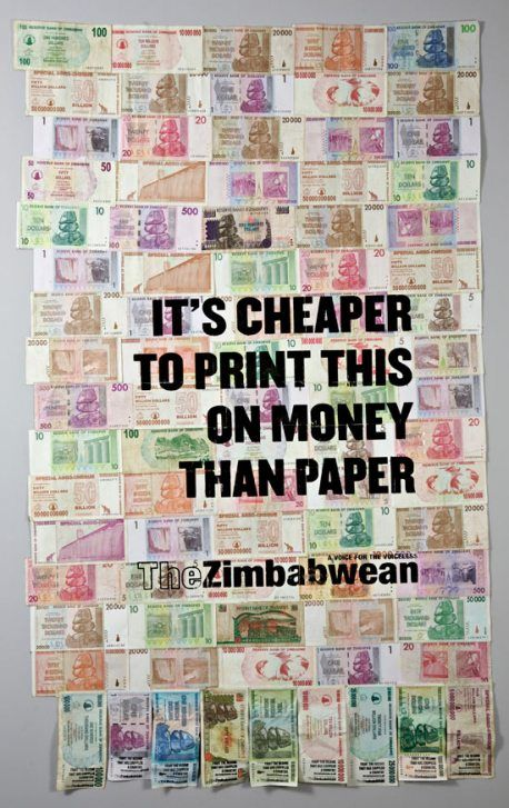 Hehehe.  It's also cheaper to use money than toilet paper. The loos don't flush anyway.