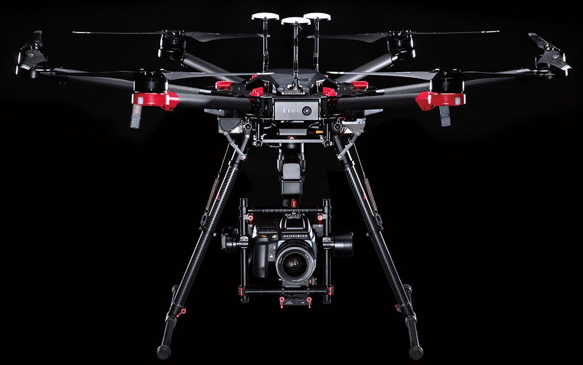 Just announced: 100MP Hasselblad camera and DJI M600 Pro drone combo