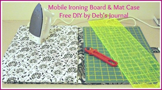 Ironing Board For Sewers Diy Ironing Board Diy Small Ironing Pad
