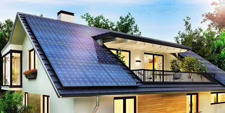 Paneles Solares En La Reforma De Tu Casa Cubicup En 2020 Techos De Casas Modernas Casas Con Paneles Solares Techos De Casas