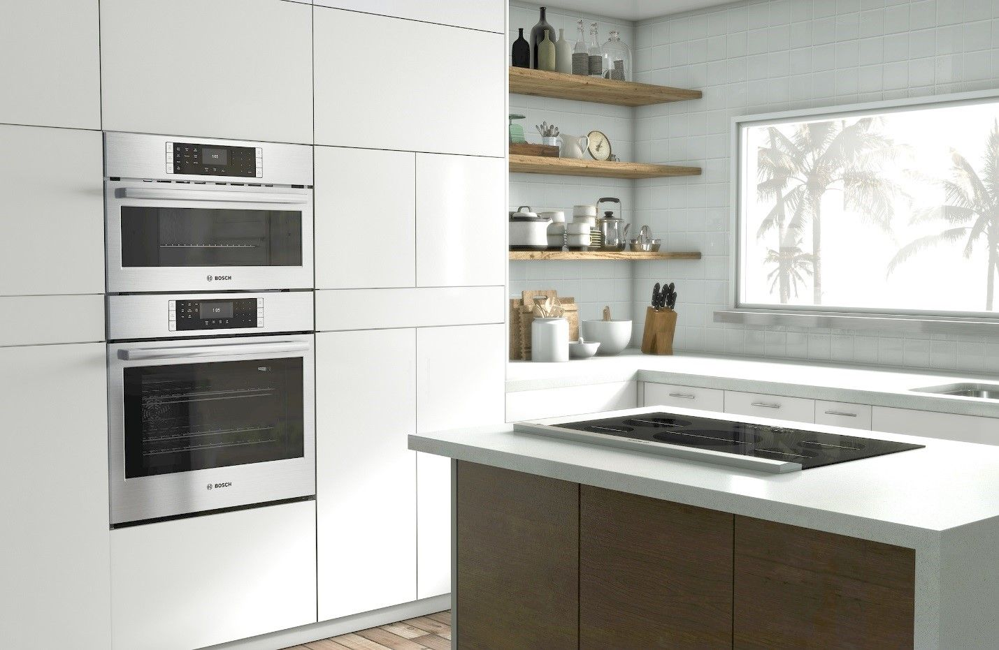 Gas, Induction, Electric: Bosch cooktops designed with you in mind on chicago fire house, the originals house, john deere house,