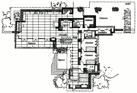 Melvyn Maxwell Smith House 191 Vintage House Plans Frank Lloyd Wright House