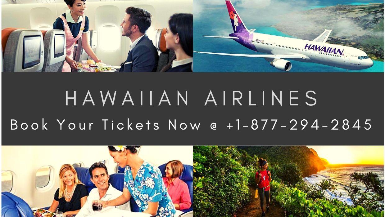 Hawaiian Airlines Online Booking +18772942845