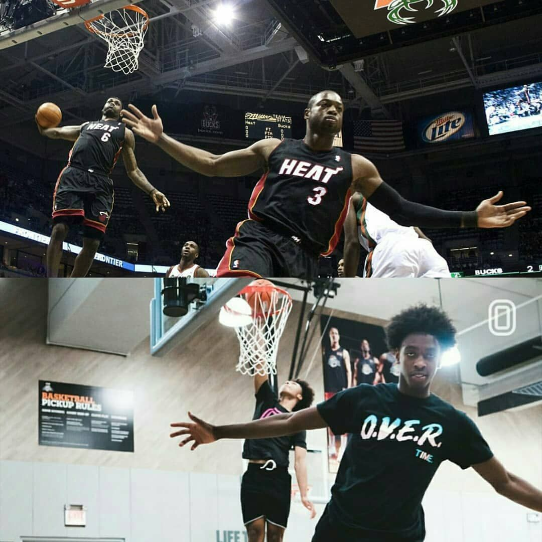 YnG @zmane2 & @mikey recreated the DWade & LeBron iconic