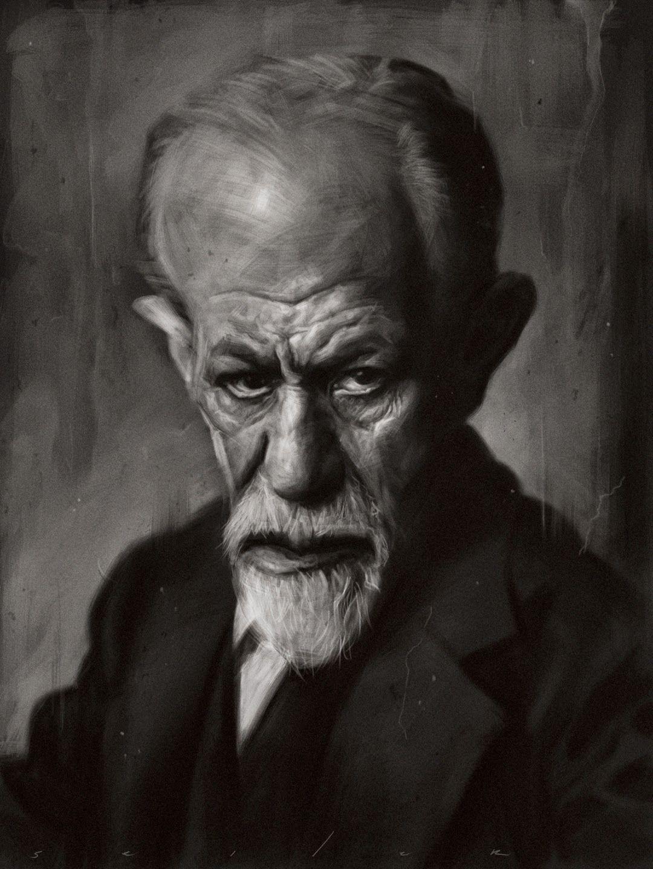 Jason Seiler - Sigmund Freud | Caricature, Portrait artist ...