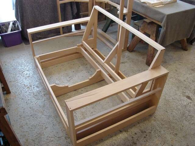 sofa frames for upholstery furniture plywood meble pinterest frame i couch