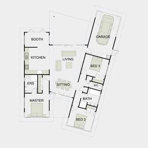 Simple Functional Floor Plans 2 Open Floor House Plans House Layout Plans House Plans