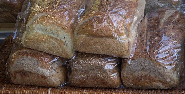 Processed sliced bread