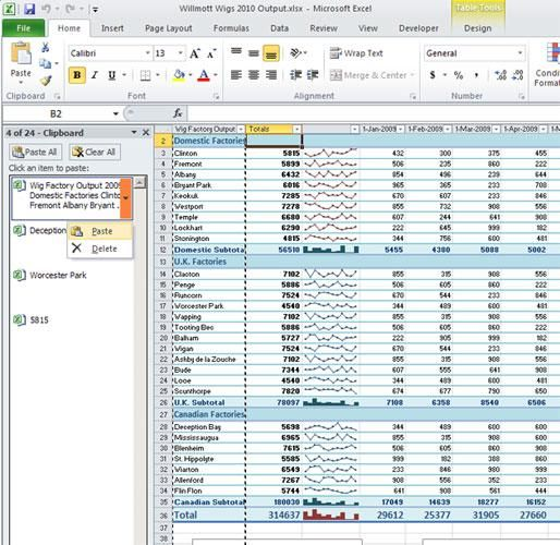 Use Office\u0027s Supercharged, High-Capacity Clipboard Computers - Spreadsheet Software Programs