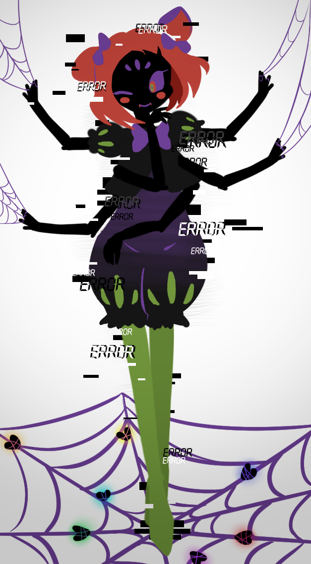 Confounded Star I Drew A Error Muffet Just For Fun Based Off