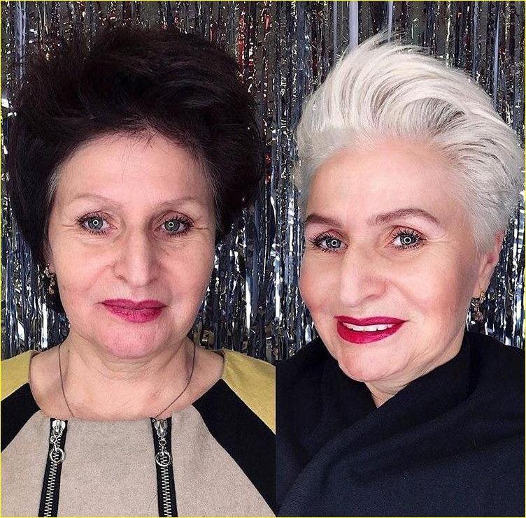 kurze frisuren für ältere frauen über 50 (mit bildern