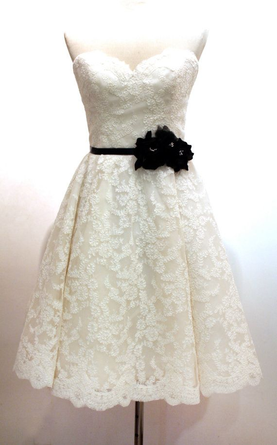 super cute wedding after-party dress... minus the black belt.