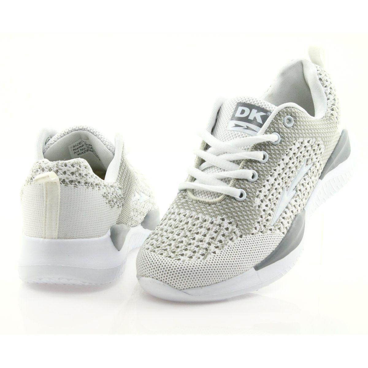 Women S Sports White Dk Sa349 White Grey Sports Women Perfect Shoes Sports Shoes