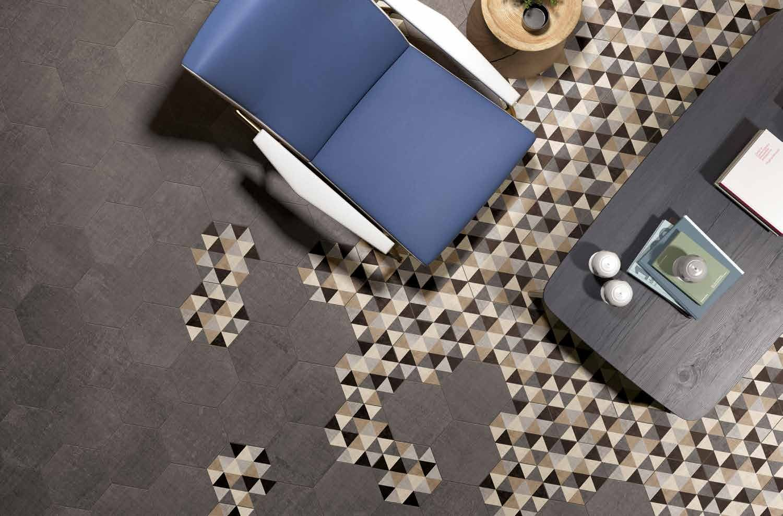 TEXTILE Flooring TexTile Collection by Ceramiche Marca Corona