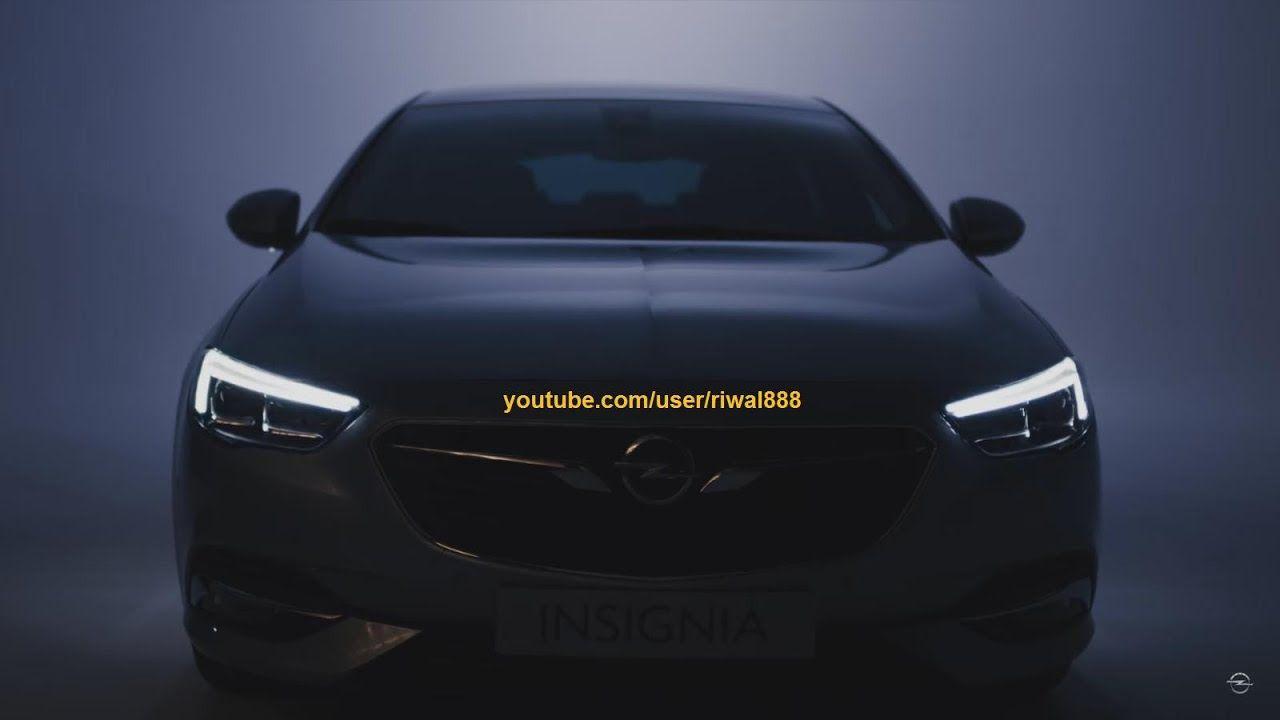 New Opel Insignia Grand Sport Led Signature Lighting Fhd Insignia Opel Led Matrix