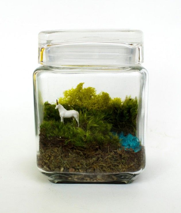 17 Whimsical Themed Terrarium Decorations Projects To Try