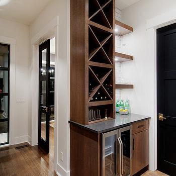 Merveilleux Built In Wine Rack, Contemporary, Kitchen, Veranda Interiors