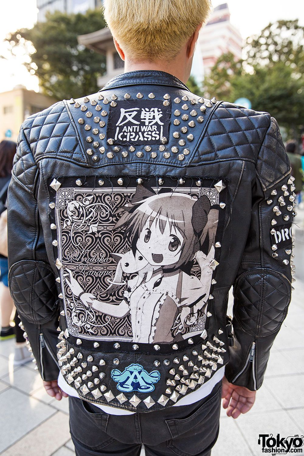 Punk x Akihabara Leather Jacket