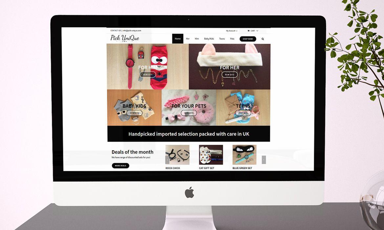 Online Shop Website Magin Web Design Birmingham Web Design Online Shopping Websites Unique Website