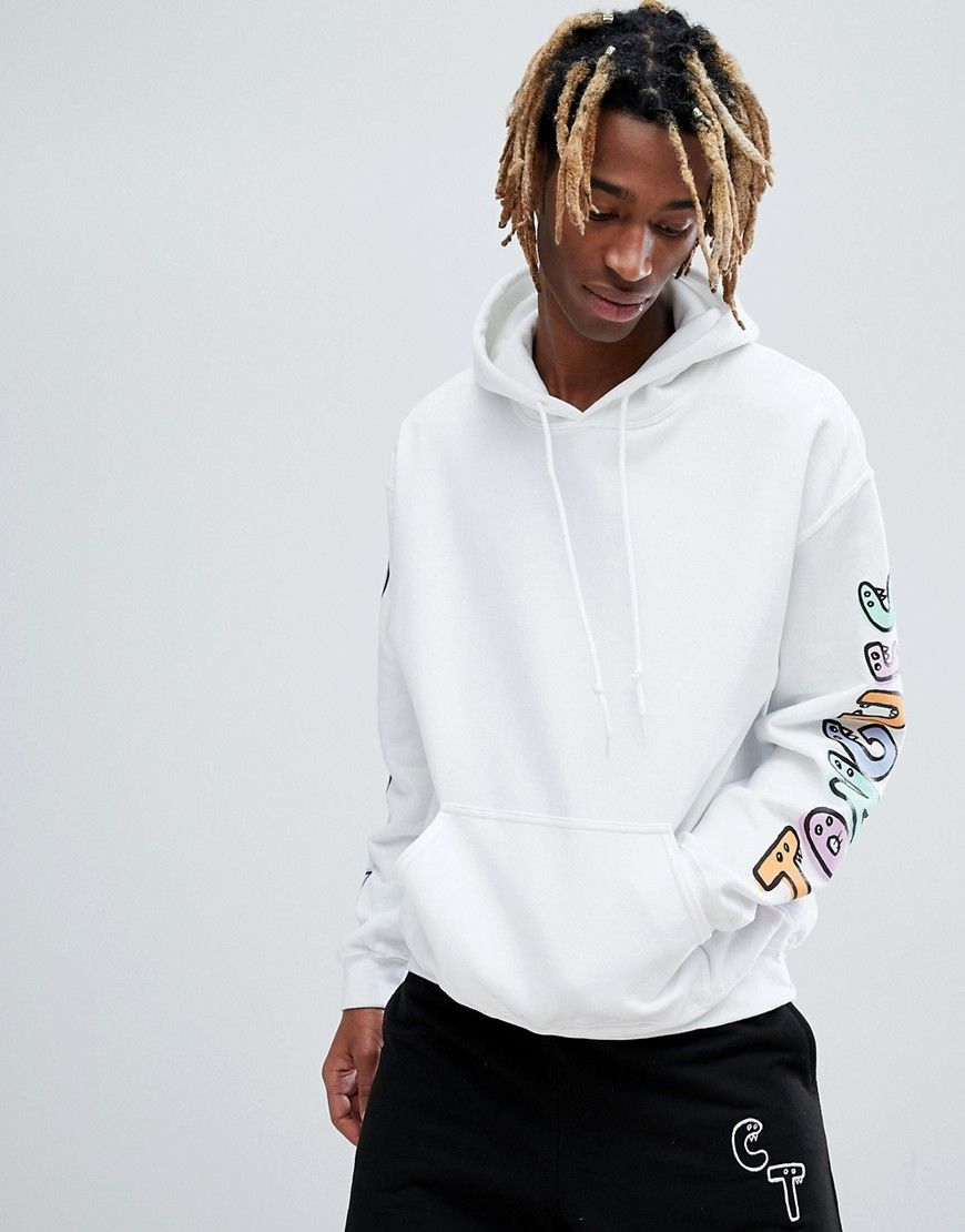 Crooked Tongues x Lucas Beaufort Hoodie With Back And Sleeve