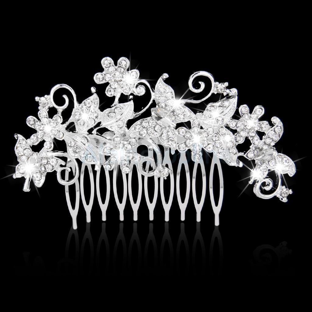 Bridal Wedding Jewelry Butterfly Crystal Rhinestones