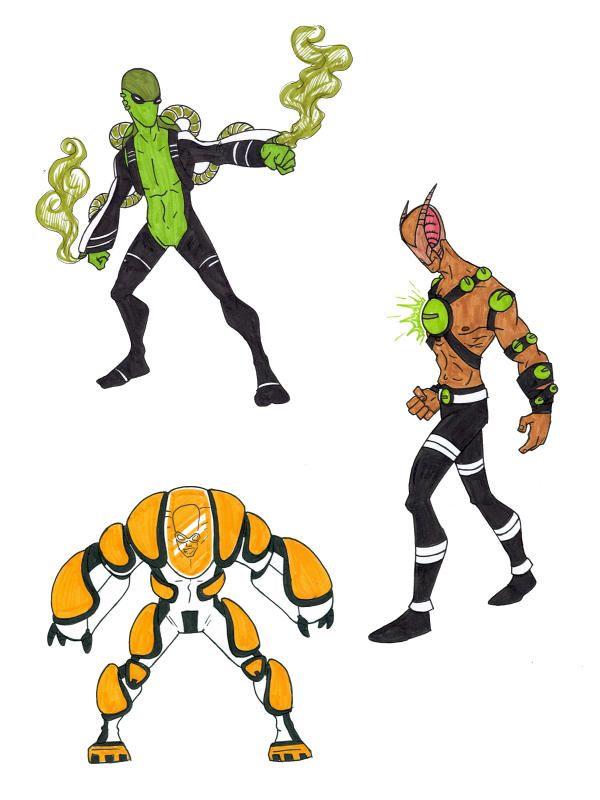 Ben 10 Super Soldiers 5 By Kjmarch Desenhos Realistas Ideias
