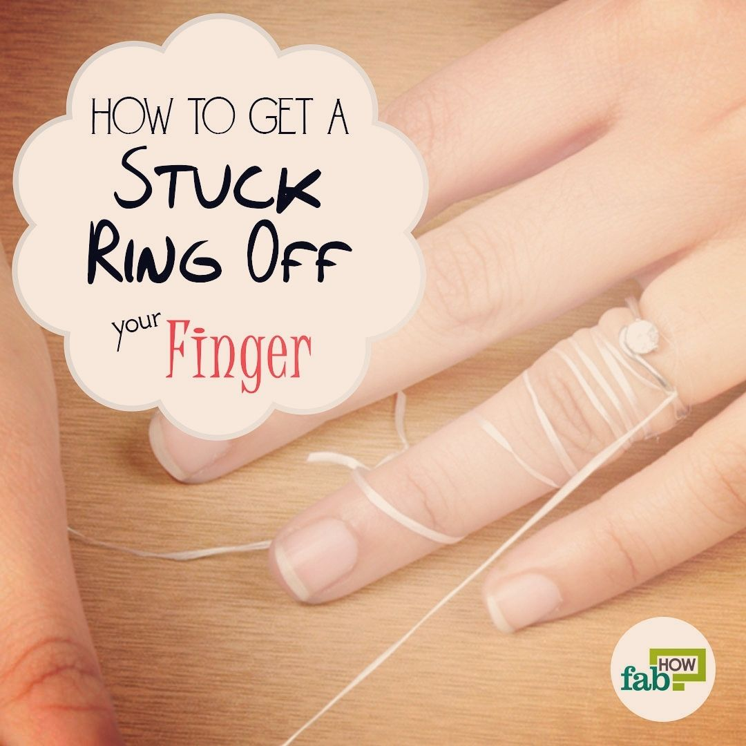 Want To Know How To Remove A Stuck Ring Off A Swollen Finger Read On And Discover How Easy The Pr Ring Stuck On Finger Adjustable Rings Adjustable Ring Silver