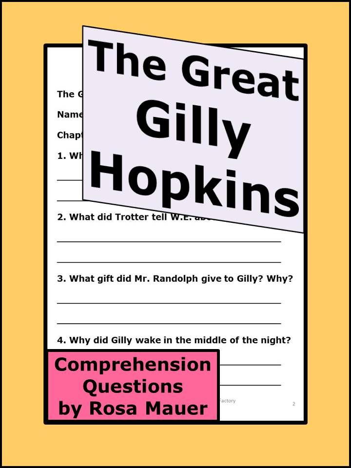 The great gilly hopkins reading comprehension questions the great gilly hopkins receive reading comprehension questions for the great gilly hopkins by katherine fandeluxe Choice Image