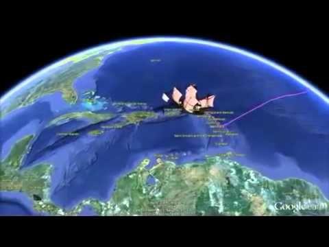 Los 4 viajes de Colón - YouTube