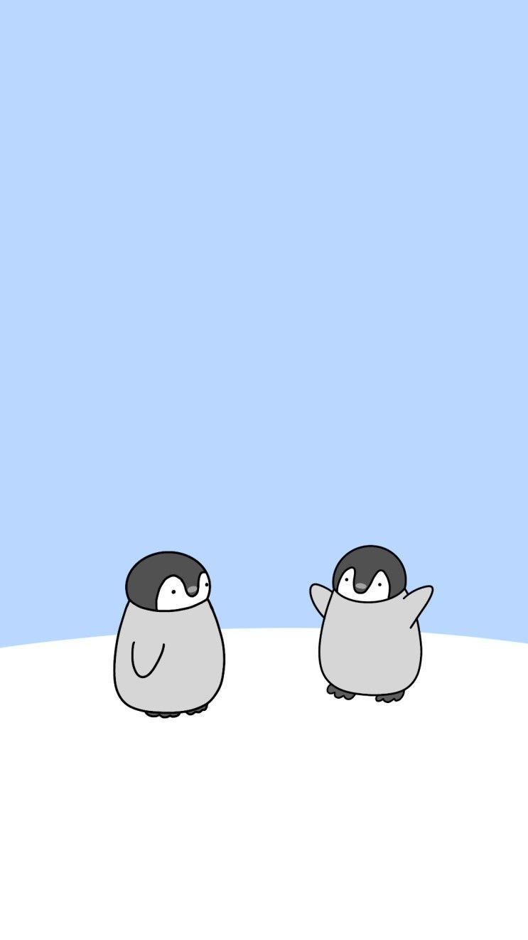Ich Habe Ein Susser Baby Pinguin Baby Pinguin Ist Zu Nett Gezeichnet ㅠㅠ ㅠㅠㅠ Kommender Cute Cartoon Wallpapers Cute Wallpapers Cute Pastel Wallpaper