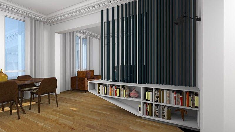 Changer  Créer une chambre dans un grand studio Idee deco