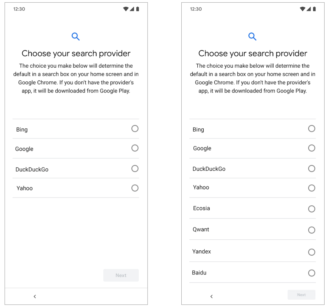 Search Preference Menu Immediately Increases Google