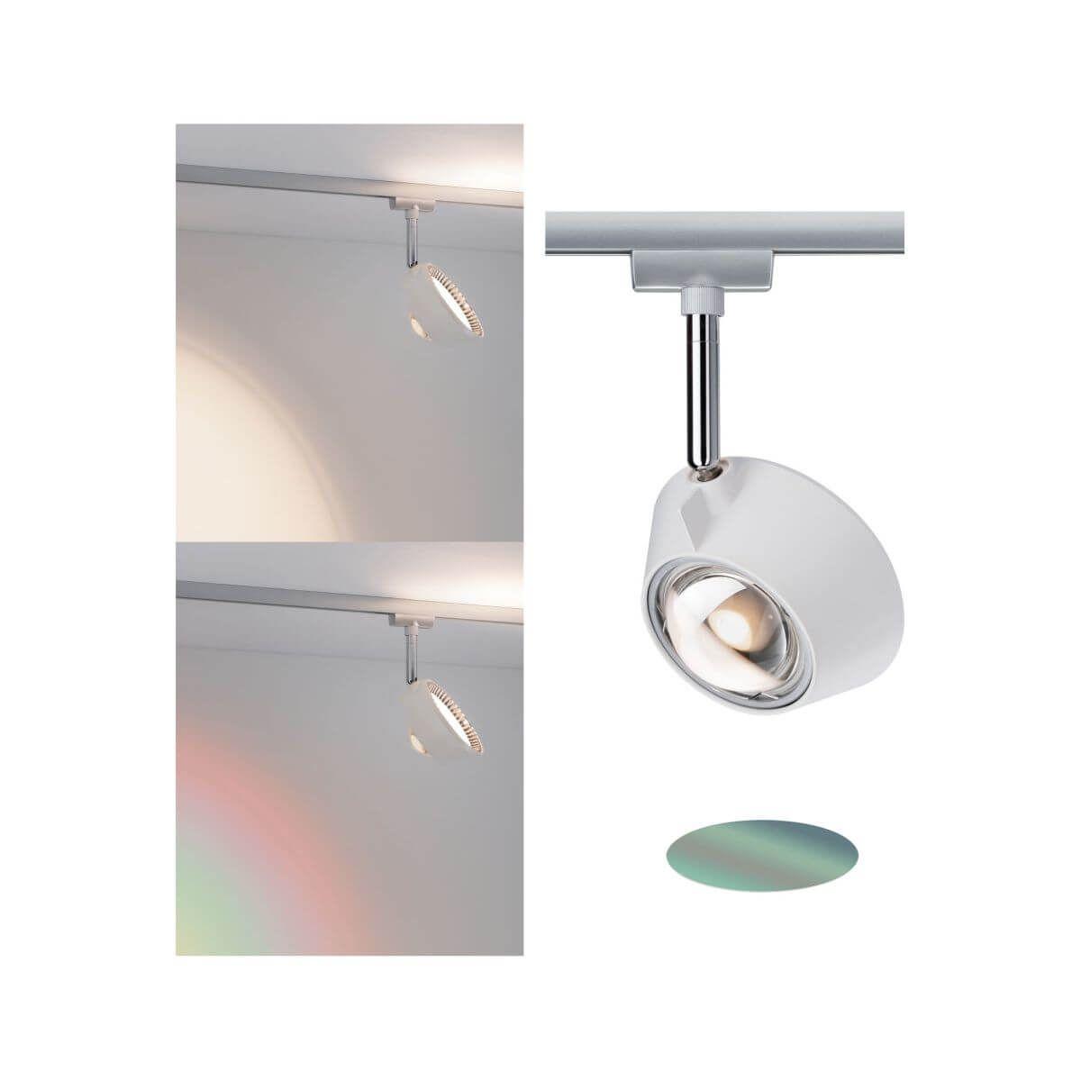 Paulmann Urail Led Spot Sabik 13w Chrom Matt 230v 570 Lm Warmweiss 2700 K Dimmbar Indirektes Licht Led Spots Licht