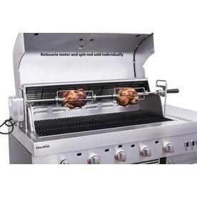 Char Broil Modular Outdoor Kitchen 37 In Stainless Steel Grill Rotisserie 5528821w06p Modular Outdoor Kitchens Outdoor Kitchen Stainless Steel Grill