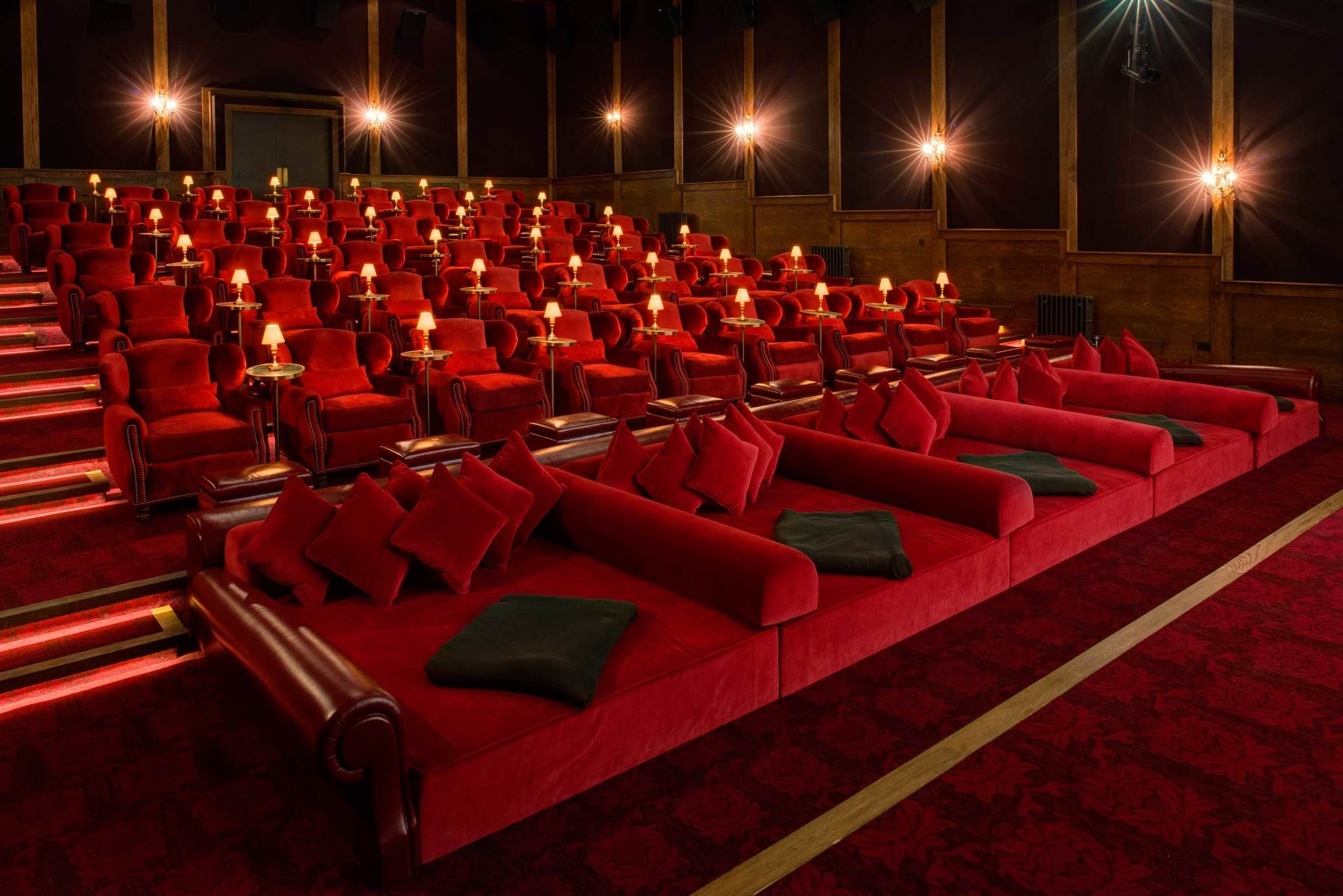 competitive price 2fff7 d9985 Now here s a private theater! soho farm house electric barn cinema 03 Cinema  Seats, Cinema Theatre, At Home Movie
