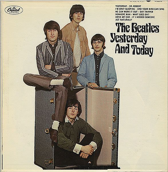 The No 2 Album on Billboard Hot 200 today 7-30 in 1966 was 'The Beatles Yesterday and Tomorrow.' This was the infamous LP released first with the 'Butcher' cover and pasted over with the Beatles trunk photo.