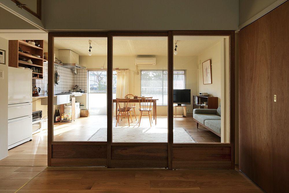 築47年の団地のよさを残す 機能美を携えたシンプルな住まい 住宅
