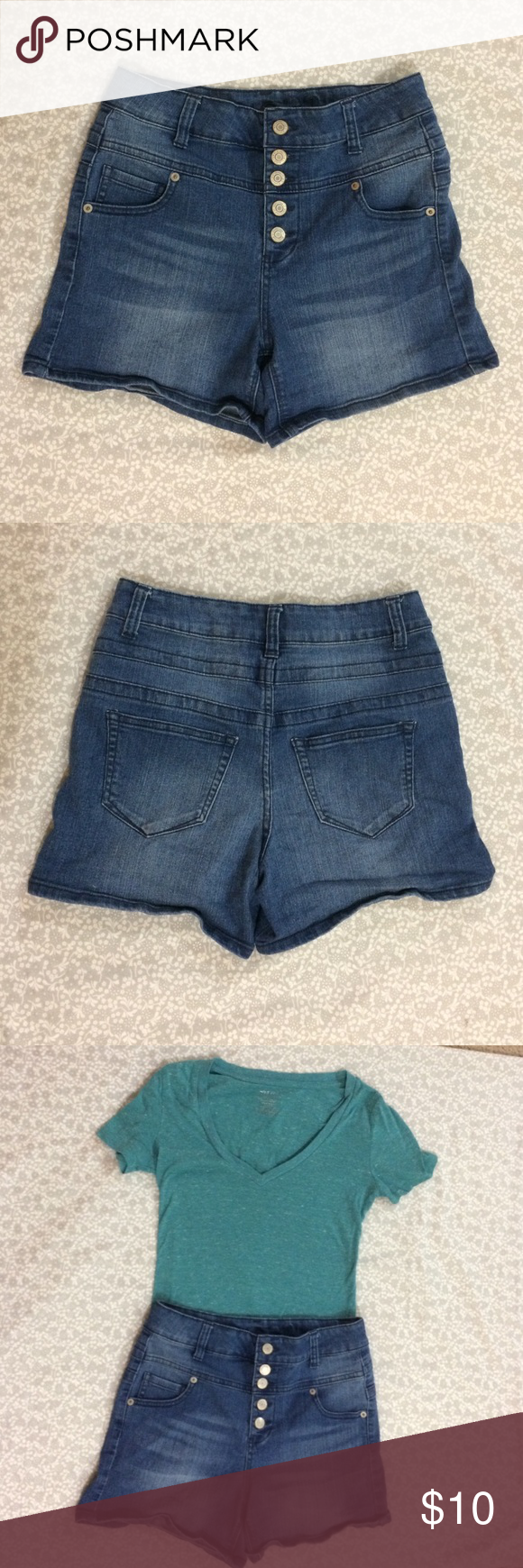 Rue 21 shorts. Size 5/6 Rue 21 high waisted jean shorts. Worn only a few times. Like new. Size 5/6 Rue 21 Shorts Jean Shorts