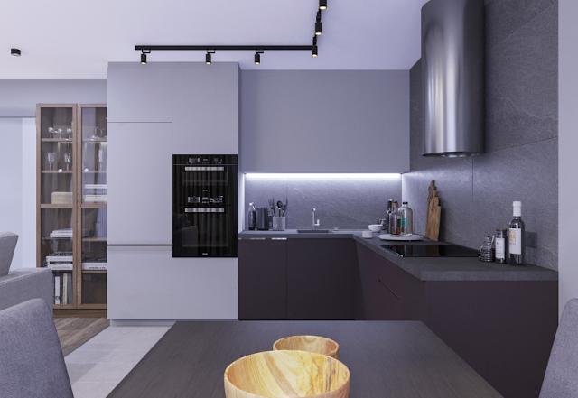 Minimalis Desain Dapur Apartemen Minimalis Interior Dan Desain